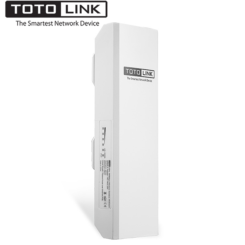 TOTOLINK CP900 15KM 5GHz 867Mbps Wireless Outdoor Access Point,Wi-Fi Repeater for Outdoor Long Distance Wifi Coverage,Easy Setup