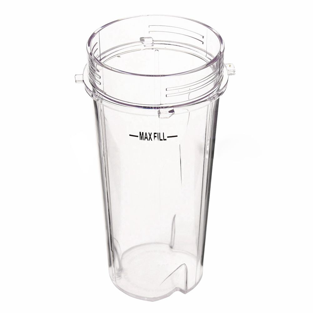 Portable 16 Oz Tall Cup Juicer Container Bottle Juice Cup No Suction Cap And Sealing Cap Ninja Mixer Free Dishwasher