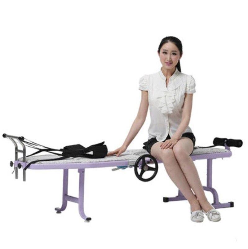 Регулируемый Поясничный Тяговый пояс для кровати, растягивающийся пояс для позвоночника, позвоночника, усталости, незначительные поврежде