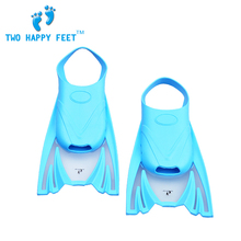 Free Shipping Swimming Fins Diving Flippers Unisex Silicone Soft touch Comfortable Fit Slip-proof for Children