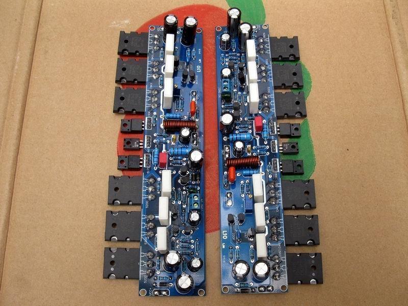 L10 circuit, power amplifier board, class A, class AB ...