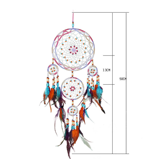 Colorful Wind Chimes Handmade Dream Catcher