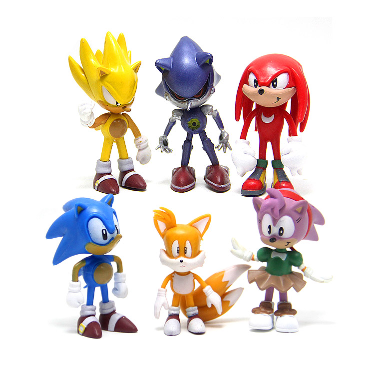 7cm Sonic The Hedgehog Figures Toys action Figure Toy