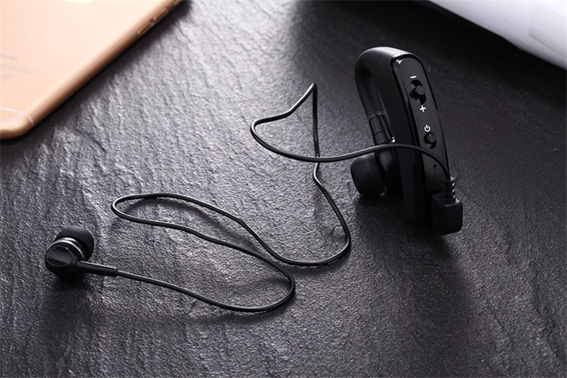 Handsfree business bluetooth headset with mic voice control wireless bluetooth headphone for sports noise cancelling earphone (9)