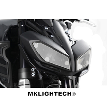 MKLIGHTECH For YAMAHA MT-09 MT09 2017 FZ-09 FZ09 2014-2018 Motorcycle Acrylic Headlight Screen Protecter Lens Cover