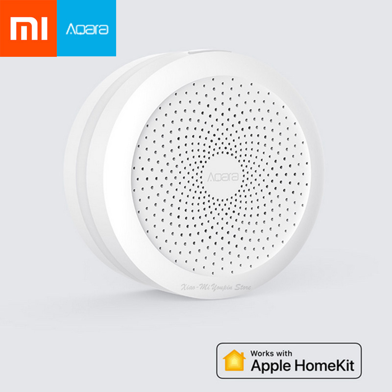Xiaomi Mijia Aqara Hub Home Gateway Led Night Light Smart Work with For Apple Homekit International