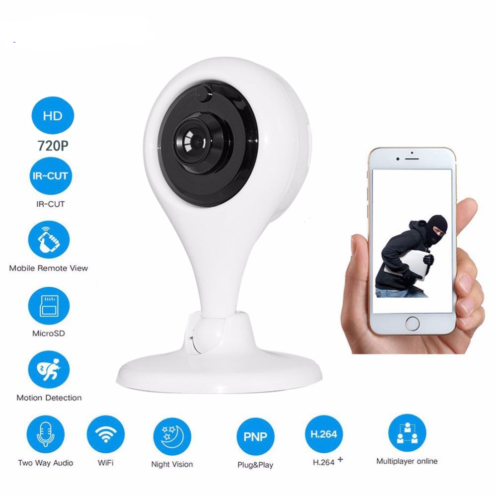 New version IR Cut Wifi IP Camera Network Wireless 720P HD Camera CCTV Security Camera Home Security Baby Monitor two way audio все цены