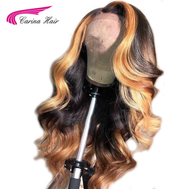 13x6 Deep part Lace Front Human Hair Wigs Body Wave 180 Density Brazilian Remy Human Hair