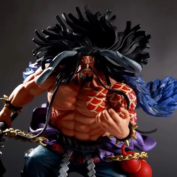 Anime One Piece GK Kaido Action Figure Fighting Ver Toys 19cm