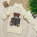 Hot Sale Infant Baby Boys Girls Children Kids Knitted Winter Autumn Pullovers Turtleneck Warm Outerwear Boy Sweaters 7 Color