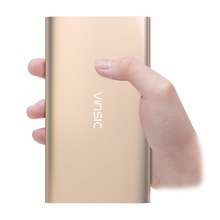 VINSIC 10000mAh Power bank Extenal Battery Pack Portable Power Charger Fast Charger Universal Powerbank LED Display Accessories