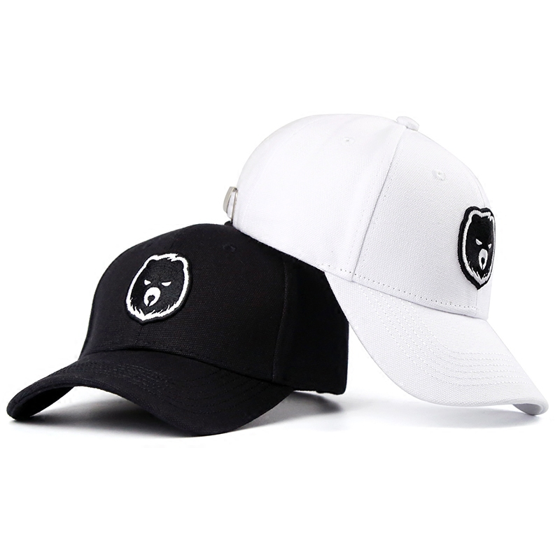New 2017 Unisex Top Quality Bear Baseball Cap Snapback Casual Gay Cap Fashion Bear Paw Hip-Hop Hat Circumference: 56-63 cm new 2017 fashion unisex cap bones baseball cap snapbacks hat simple hip hop cap casual sports female hats wholesale