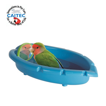 CAITEC Bird Toys Parrot Bathtub