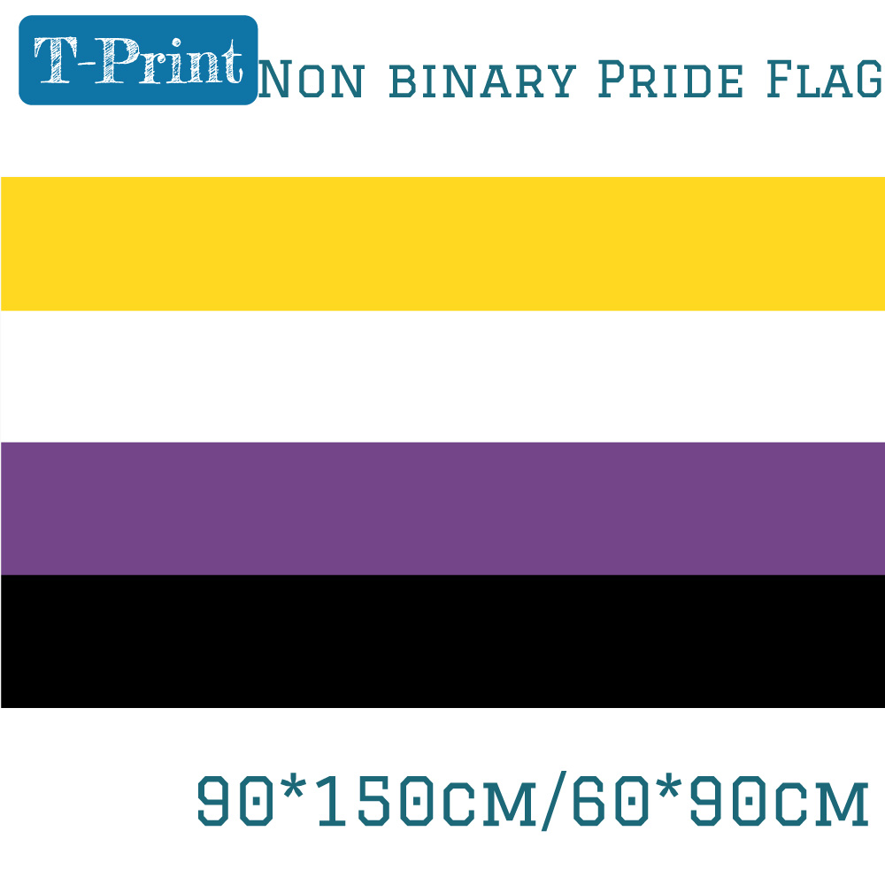 3x5 Polyamory Poly Flag Banner Brass Grommets