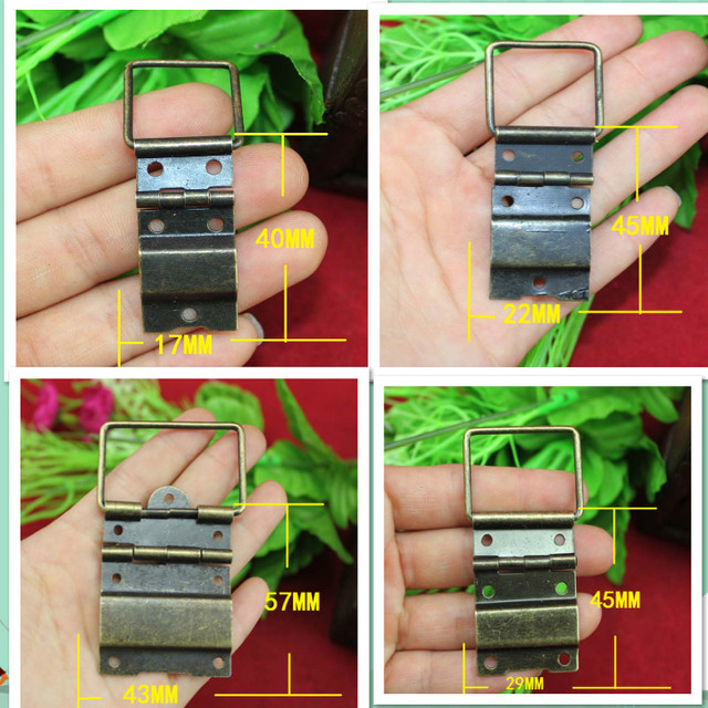 4 Size Antique Furniture Hinges For Wooden Case Jewelry Gift Wine Box Hinge  Bronze Decorative Hinges - Aliexpress.com : Buy 4 Size Antique Furniture Hinges For Wooden Case