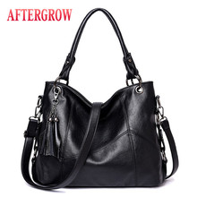 Luxury Women Hobos Bag Female Shoulder Bag O V Designer Messenger Bag Large Capacity Washed Leather Casual Totes Ladies Handbag недорого