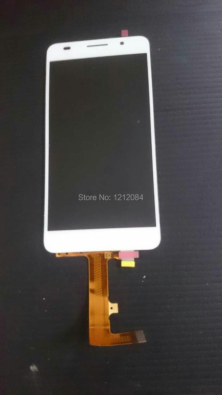 Prix pour Pour huawei honor 6 h60-l02 h60-l12 h60-l04 lcd affichage écran + tactile en verre digitizer assemblée blanc + outils gratuits