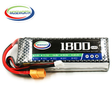 Lipo Battery 3S 11.1V 1800mAh 40C For RC Drone Car Quadcopter Airplane Helicopter Remote Control Toys Lithium Polymer Battery
