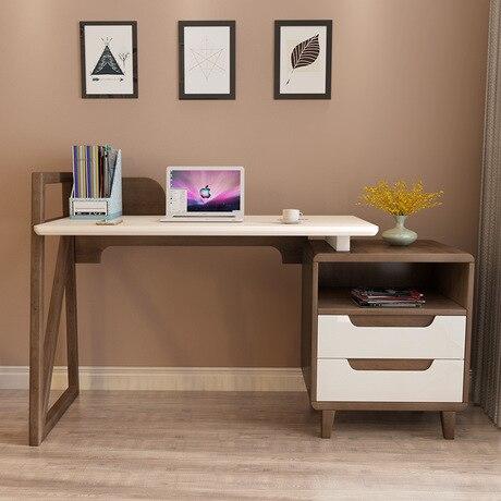 Computer Desks Office Desk Home Furniture Solid Wood Notebook Desk Soporte  Notebook Ordenar Cajones Study Table