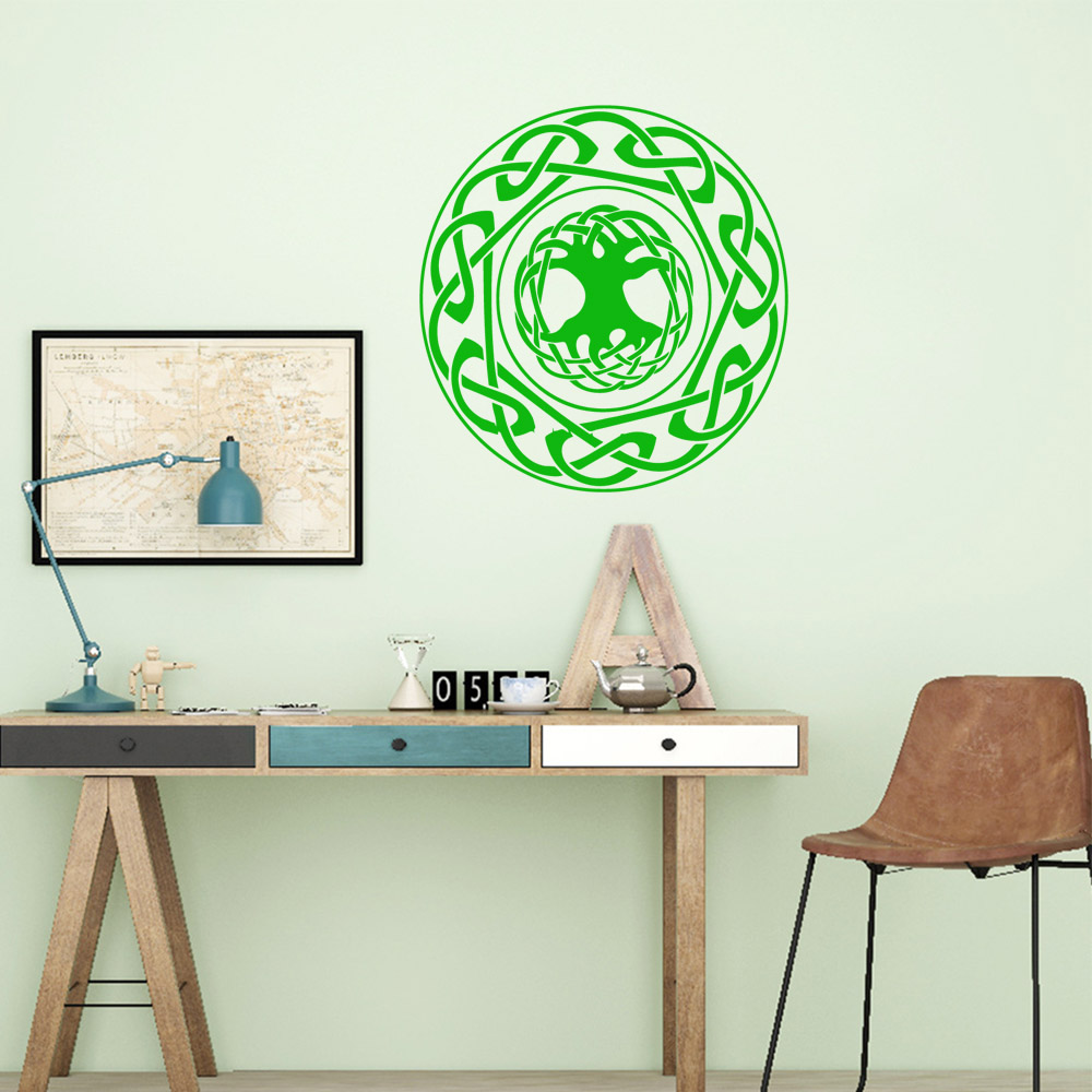 2019 NewEid Mubarak Wall Stickers Personalized Creative for Living Room Company School Office Decoration Art Mural