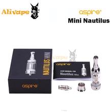Aspire Nautilusถังมินิ2.0มิลลิลิตรสำหรับบุหรี่อิเล็กทรอนิกส์มินิNautilusถังเหมาะสำหรับ510เชื่อมต่อ