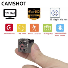 Cheaper CAMSHOT Small Mini 1080P Camera 12MP Infrared Night Vision HD Digital Micro endoscope Stealth surveillance cameras record