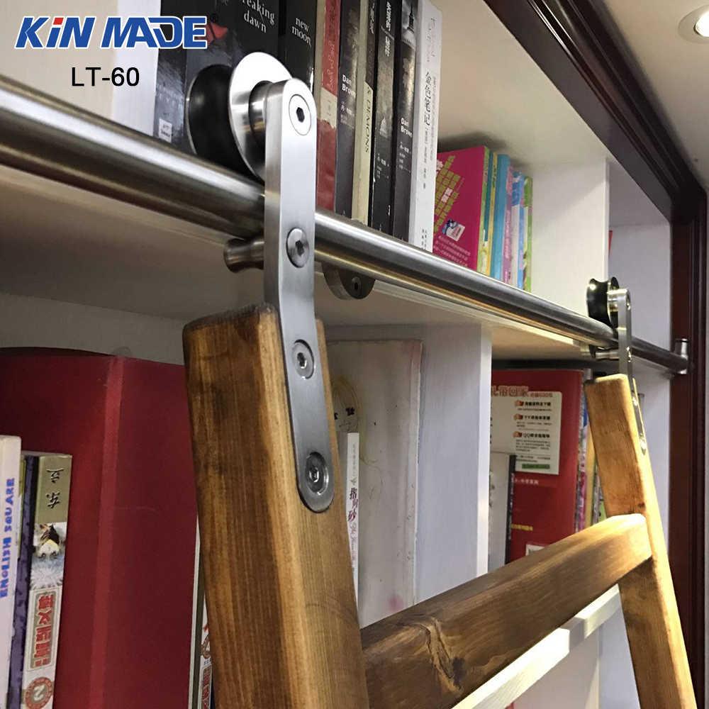 Echelle Bibliotheque Sur Rail kit de voie d'échelle de bibliothèque de matériel d'échelle
