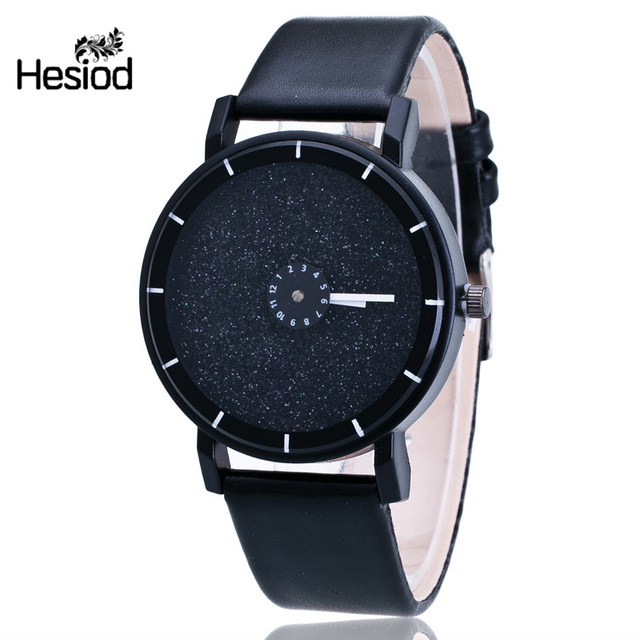Hesiod Men Watch New Famous Steel Sport Wristwatch Relojes Dress Black  Silver Gold Color Dial Men Casual Watches Luxury Watches c4daee3260b8