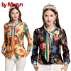 By Megyn Women Shirt Long Sleeve 2017 Autumn Free Shipping Blouses Fashion Women Shirts Feminine Shirt