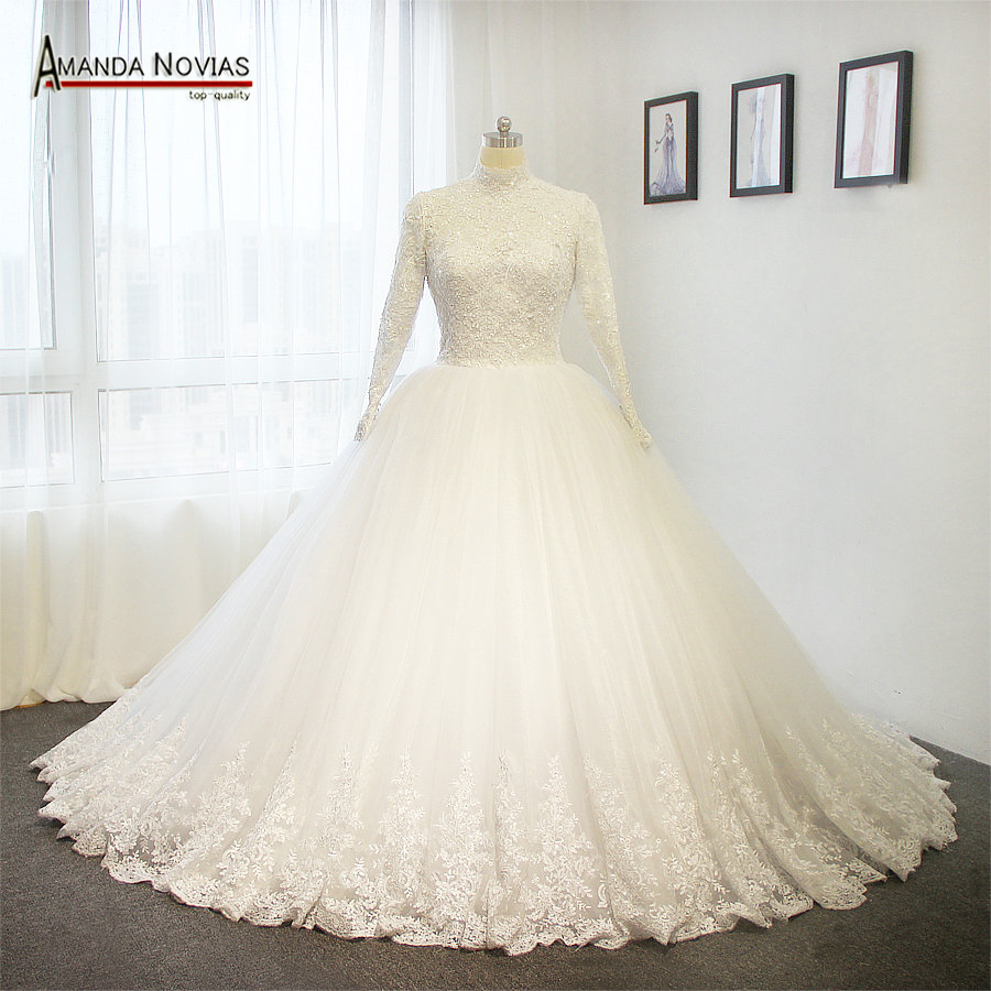 Aliexpress.com : Buy Vintage 2018 Muslim Wedding Dress