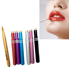 купить Hot Matte Liquid l ipstick make up l ip +l ip Liner pencil mate Waterproof Long Lasting l ipstick 1pcs дешево