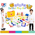 New Doctor toys children pretend play house toys child medical kit classic toys Simulation medicine for boys and girls