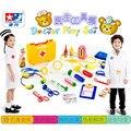 Nuevo Doctor juguetes niños pretend play house juguetes niño botiquín medicina Simulación juguetes clásicos para niños y niñas