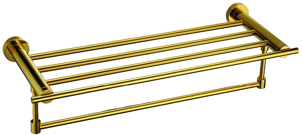 FREE SHIPPING new design gold Pvd  towel shelf ркзак туристический thule capstone 50l женский тёмно серый серый