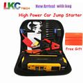 2016 New Arrival High Power Car Jump Starter 16000mah 4USB 2.0A Output with LED Display Portable Car Charger 12V Battery Booster