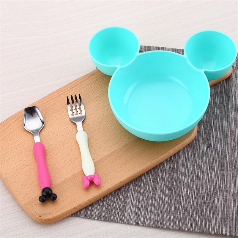 Kids Bowl Dinnerware Set Cartoon Creative Plate Child Plastic Tableware Cute Lunch Tray Dishs Christmas Gift DIY Fruit Plate-in Bowls from Home u0026 Garden on ... & Kids Bowl Dinnerware Set Cartoon Creative Plate Child Plastic ...