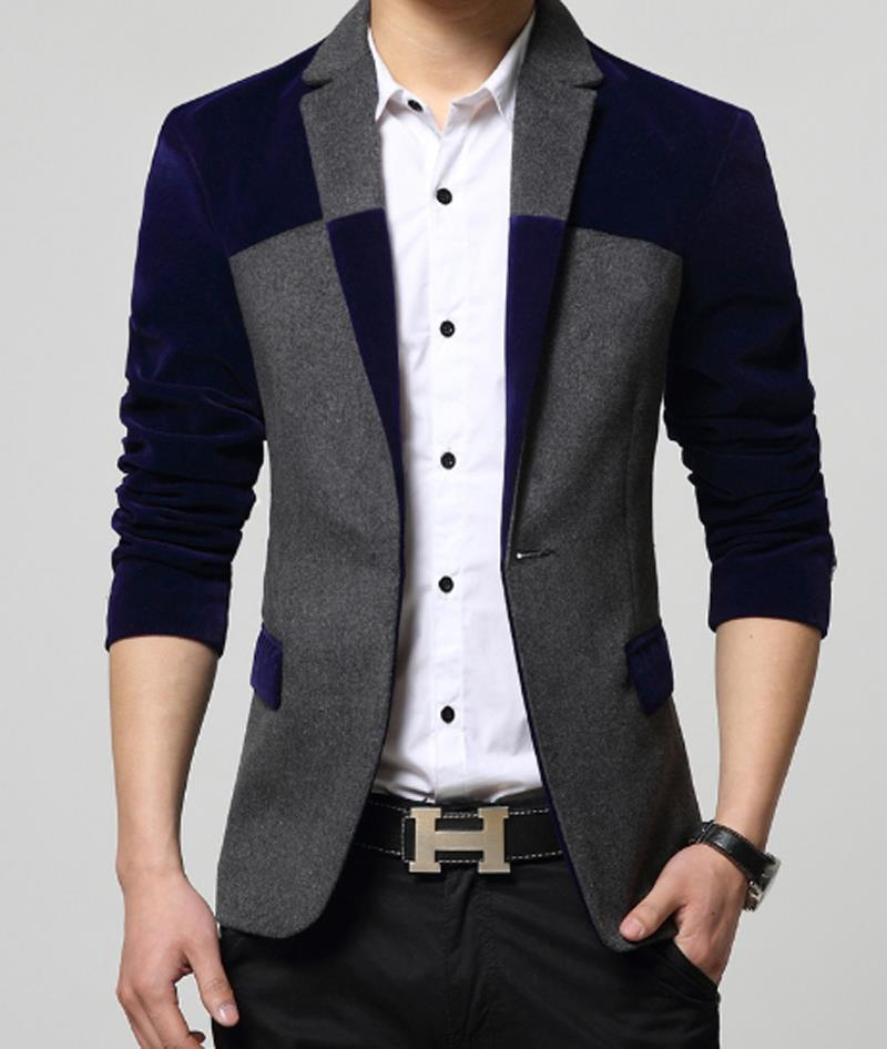 2015 male men's woolen cloth men casual jackets men's ...