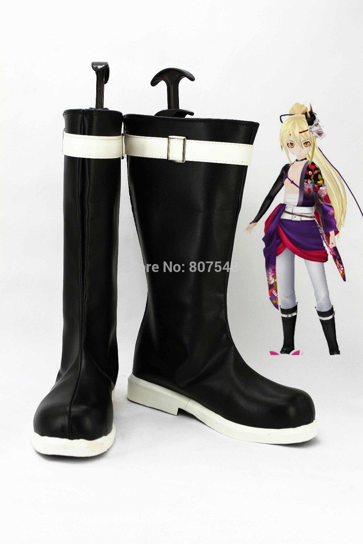 vocaloid kagamine len boots boys shoes custom