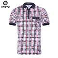 Новые Летние Мужчины Бренд Поло Одежда Известный Camisa Masculina Мужские Рубашки Поло Бизнес Случайных Спортивной Дышащий Рубашки Поло