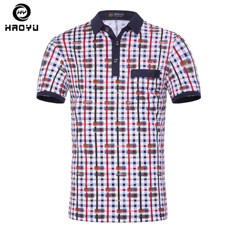 Nauji vasaros vyrai ženklo polo drabužius Įžymūs Camisa Masculina Vyriški polo marškinėliai Verslo laisvalaikio sportiniai drabužiai Kvėpuojantis polo marškinėliai