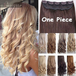 Big discount 17 26 curly wavy long women lady clip in hair extensions 100 real natural.jpg 250x250