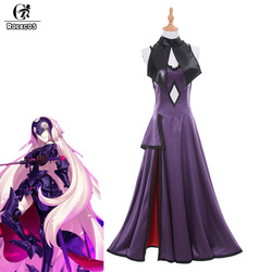 ROLECOS New Japanese Game Fate/Grand Order Jalter Cosplay Costume Jeanne d'Arc Avenger and Ruler Purple Cosplay Costumes