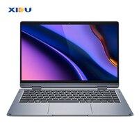 XIDU 14,1 дюймов Window10 ram 6 GB rom 128 GB клавиатура с подсветкой для ноутбука 1080 ips экран сенсорный ультра ноутбук 512G карта SSD слот