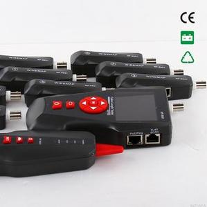 Image 2 - Free shipping, Noyafa NF 8601W Lan Cable Tester with 8 Identifiers Poe /Ping/RJ45/Rj11 Cable Length Tester