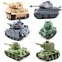 6 Styles Meng Q Ver German Medium Tank Panzer III Soviet Medium Tank T34/76 MA41 KV 2 KING TIEGER Assembly Model Building Kits