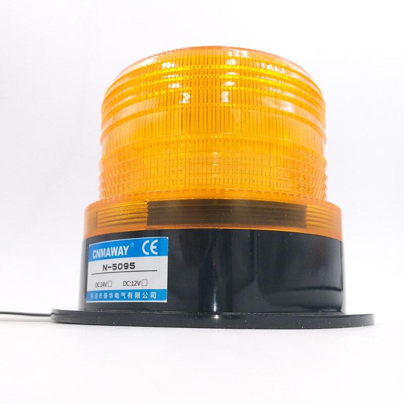 N 5095/5095J 5188 Indicator light LED Emergency lighting lamp Signal Warning light Security Alarm DC 12V 24V AC220V|indicator light|alarm light indicator|220v led indicator - title=