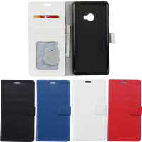 Uftemr Case For Xiaomi Mi Note 2 Cases Magnetic Genuine Leather Flip Wallet Cover Case For