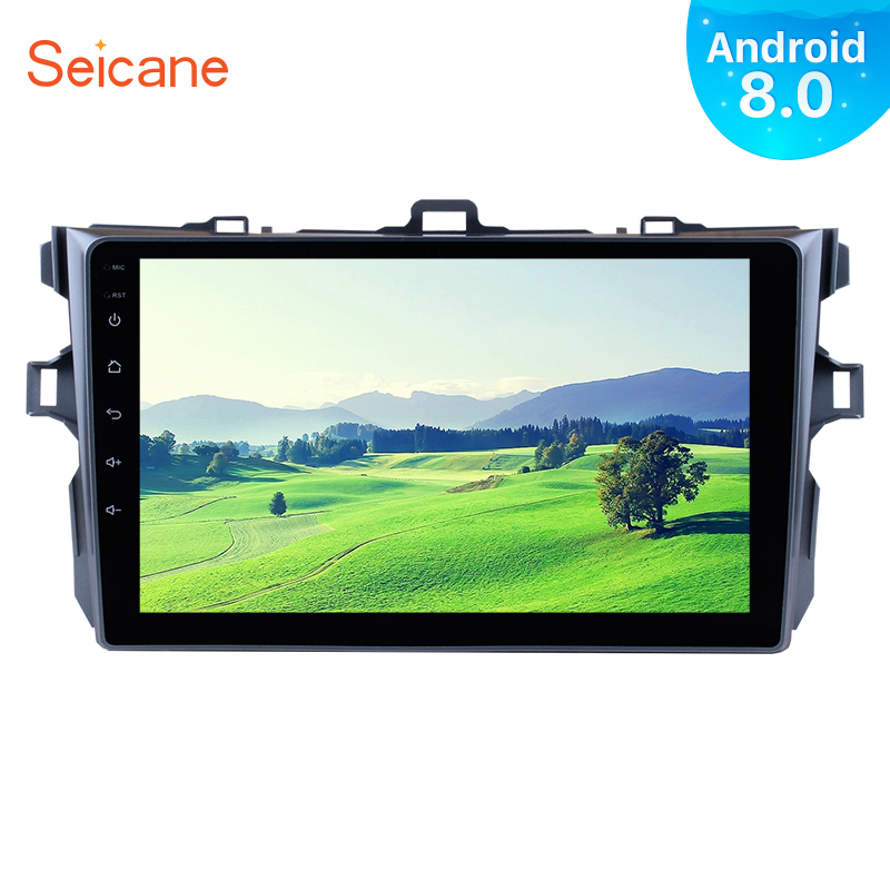 Seicane 9 Android 8 0 1Din Car Radio For Toyota COROLLA 2006 2007 2008 2009 2010
