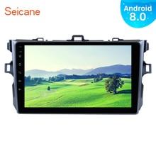 Seicane 9 «Android 8,0 1Din автомобиля радио для Toyota COROLLA 2006 2007 2008 2009 2010 2011 gps навигации мультимедийный плеер