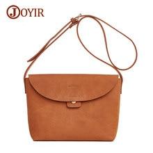 Joyir fashion crossbody bag for women casual soft cover women messenger bags solid shoulder bags ladies high quality 8626